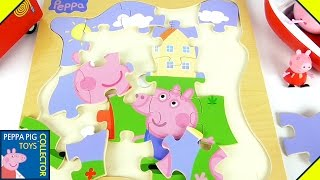 Wooden Pizzles with Peppa Pig and Her Friends!