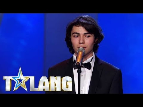 Azerbaijani refugee Ibrahim delivers the most emotional audition  Sweden's Got Talent  Talang 2017