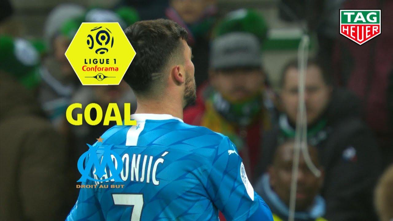 Goal Nemanja RADONJIC (85') / AS Saint-Etienne - Olympique de Marseille (0-2) (ASSE-OM) / 2019-20