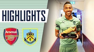 AUBAMEYANG CAN'T STOP SCORING! | Burnley 1 - 3 Arsenal | Goals and highlights