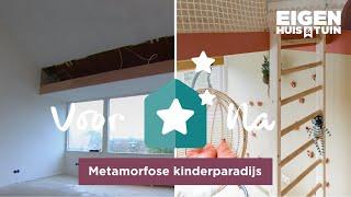 Van Kale Ruimte Naar Speelparadijs   Metamorfose   Eigen Huis & Tuin