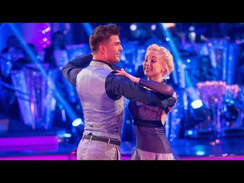 Helen George & Aljaz Skorjanec Quickstep to 'Can't Hurry Love'  Strictly Come Dancing: 2015