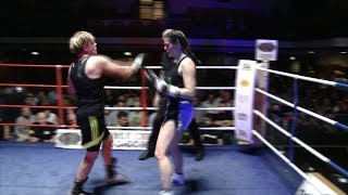 IBA Boxing - Rachel Newbury v Dora - Women's First Round Knockout!