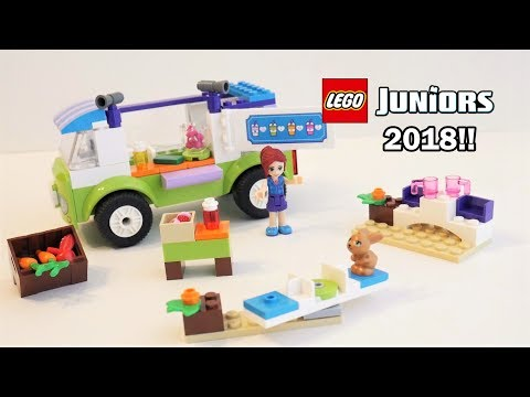 LEGO Juniors 10749 Mia's Organic Food Market Unboxing | LEGO 2018 Unboxing