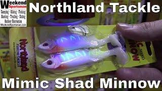 #NorthlandTackle Mimic Shad Minnow Fishing Lure | Weekend Sportsman