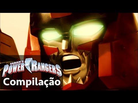 Power Rangers em Português   As lutas dos Power Rangers: Dino Charge Zords
