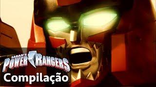 Power Rangers em Português | As lutas dos Power Rangers: Dino Charge Zords