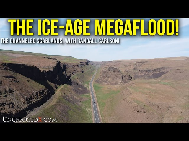 Megaflood Landscapes of the Channeled Scablands! With Randall Carlson in May 2021. 4K with Jams!