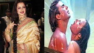 रेखा और अक्षय के इस  Hot scene ने मचाई सनसनी| Rekha and Akshay's hot scene caused sensation