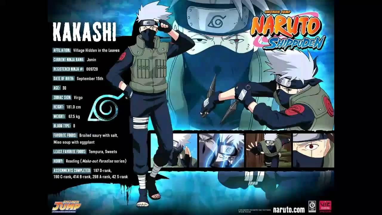 Naruto Shippuden Characters Bio Naruto Shippuden Chara...