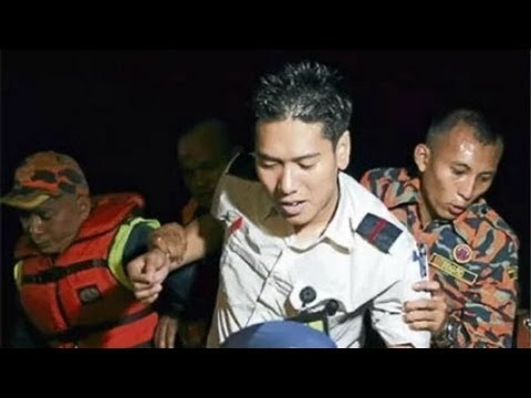 Malaysia light aircraft crash landing in Straits of Malacca