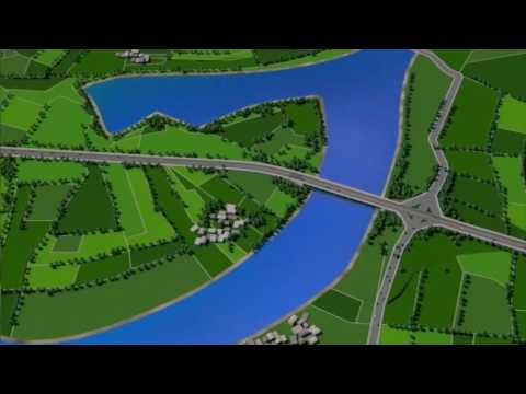 DPWH REGION 1 Lingayen By-Pass ROAD 3D ANIMATION