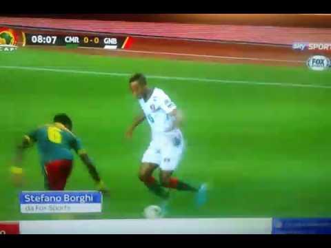 Camerun  -  Guinea  -  Bissau  - 2 - 1  - Highlights  -  Coppa  D' Africa  2016/2017.