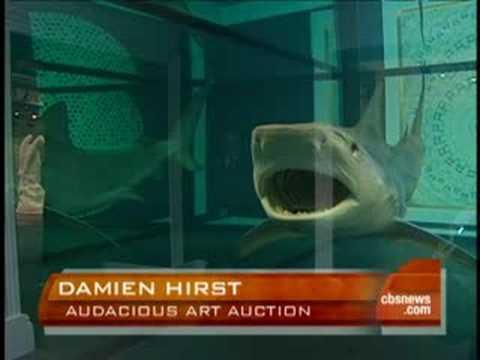Damien Hirst S Brash Auction Youtube