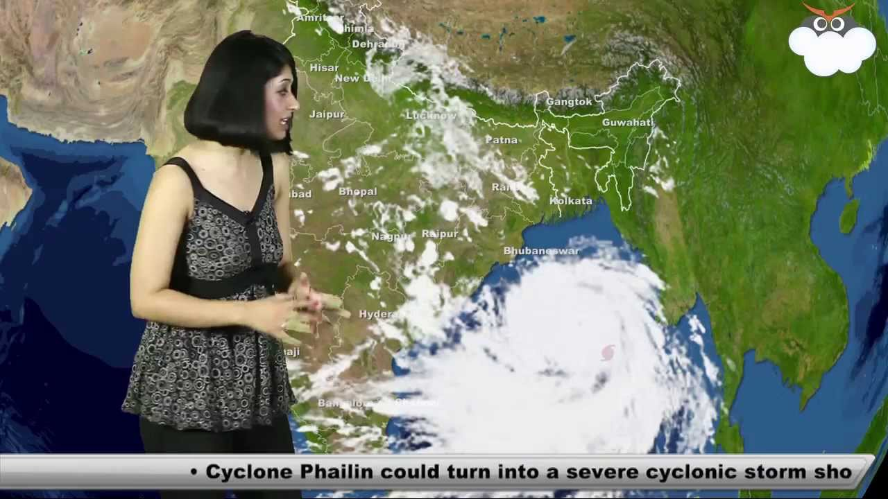 11th Oct' 13 Cyclone Phailin Update: Skymet Weather Report