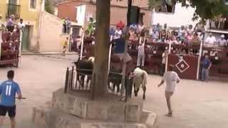 Encierro calles Alhóndiga 2014 6/09