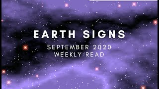 Earth Signs (Virgo, Taurus, Capricorn) Weekly Read: New Moon in Virgo