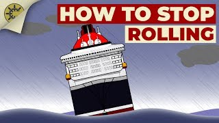 How Stabilisers Reduce A Ship's Roll