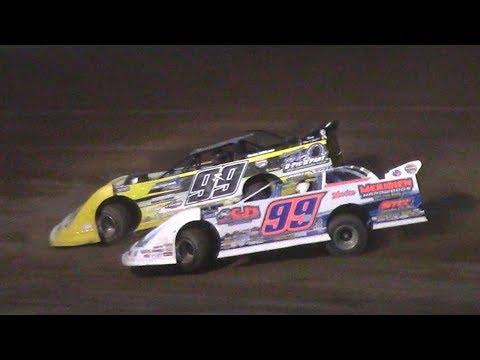 World of Outlaws Late Model Heat Three | McKean County Raceway | 6-20-17
