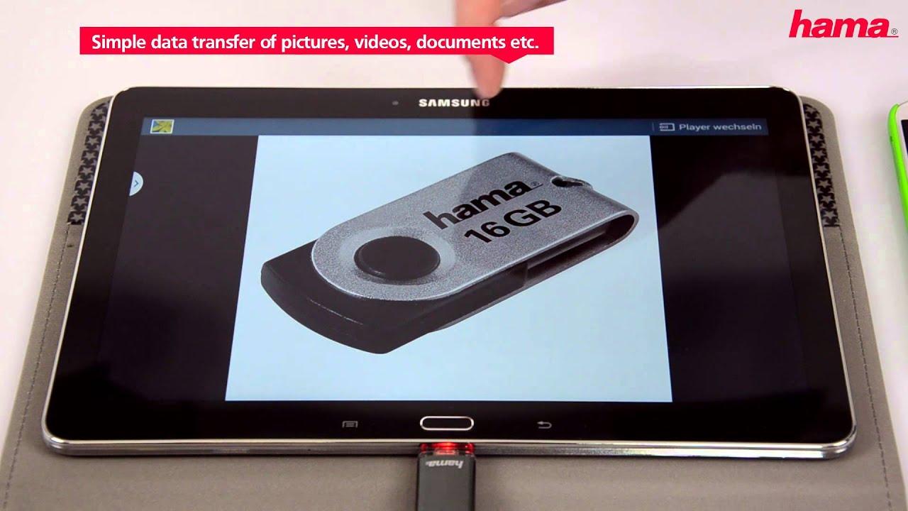 "hama USB 2.0 OTG Speicherstick FlashPen /""Laeta Twin/"" 16 GB"