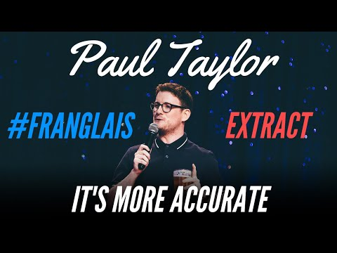 THERMOMETER IN THE A** - #FRANGLAIS - PAUL TAYLOR