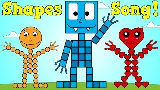 Shapes Song 3 | Shapes Nursery Rhyme For Kids