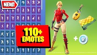 The New Fortnite STARTER PACK - LAGUNA (Tropics Commander) & Laguna Skin combos with 110+ Emotes