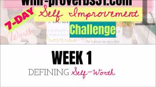 WMR-PROVERBS31.COM SELF IMPROVEMENT CHALLENGE #1