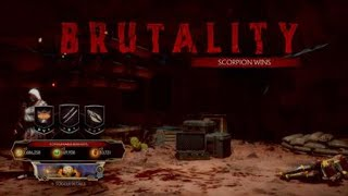 Mortal Kombat 11 32 hit combo environment brutality
