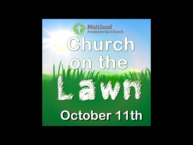 Church On The Lawn Info Video!
