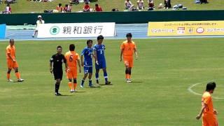 2010-07-25 JFL後期第4節 V・ファーレン長崎 vs 佐川滋賀戦の前に...