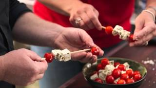 Heat Beads® Gcbc Tofu Feta Tomato Skewers Bbq Recipe