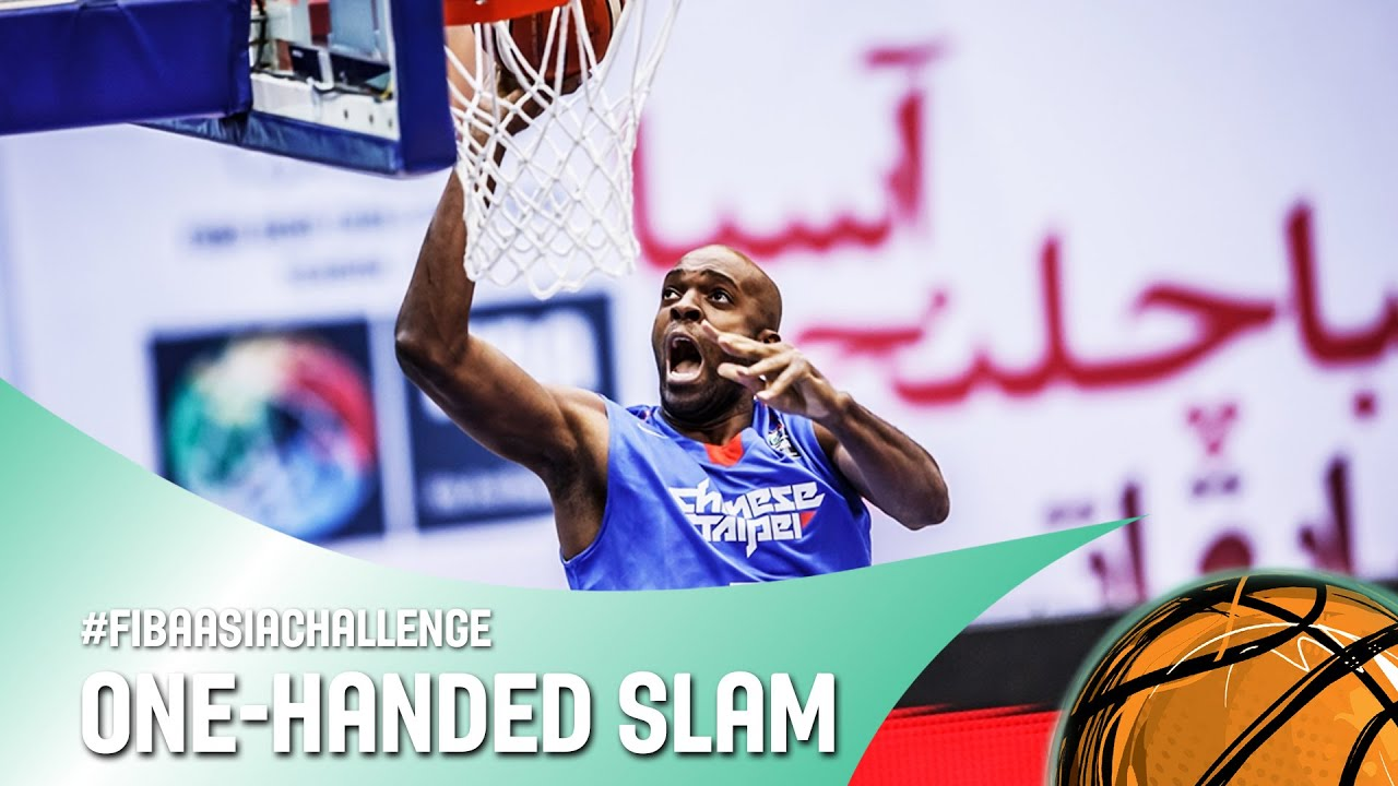 Behind the back pass to the one-handed dunk! - FIBA Asia Challenge 2016