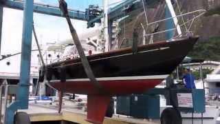 R4Nautic - Montagem e teste M36 Morris Yachts