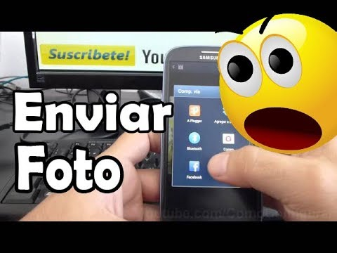como enviar una foto por correo electronico desde android Samsung Galaxy S3 español