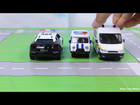 Мультфильм про кабриолет полицейский