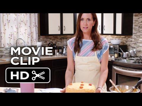 Welcome To Me Movie CLIP - Meatloaf Cake (2015) - Kristen Wiig, James Marsden Movie HD