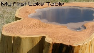 My wooden coffee table: