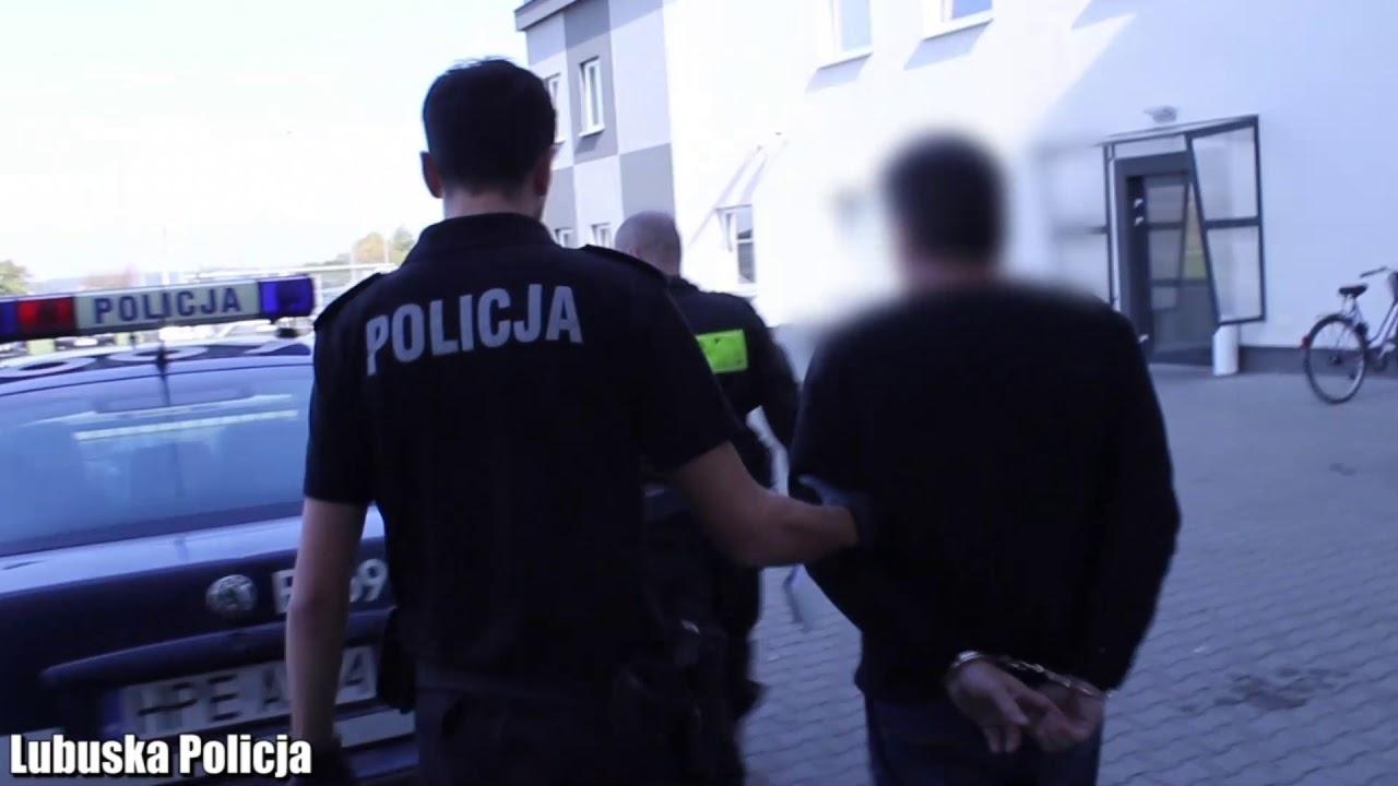 Poszukiwany 10 listami gończymi zatrzymany. Czeka go 10 lat więzienia