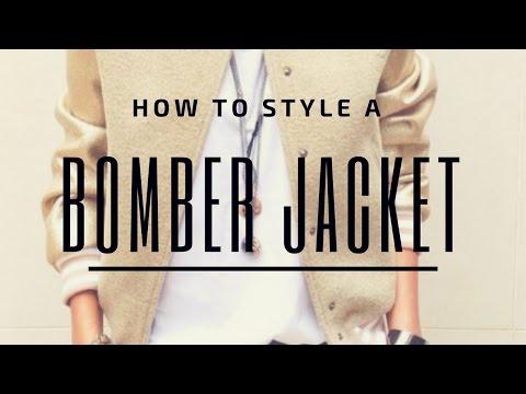 How I Wear My Bomber Jacket