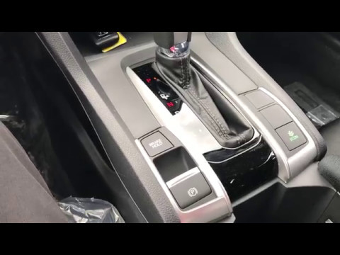 Della Honda Plattsburgh >> 2017 Honda Civic Brake Hold and Electronic Parking Brake - YouTube