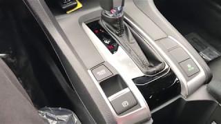 2017 Honda Civic Brake Hold and Electronic Parking Brake