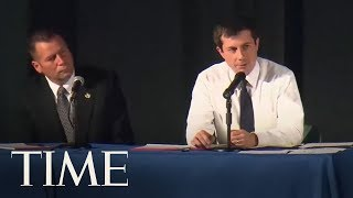 Buttigieg Criticized At Emotional Town Hall After Cop Fatally Shoots Black Man | TIME
