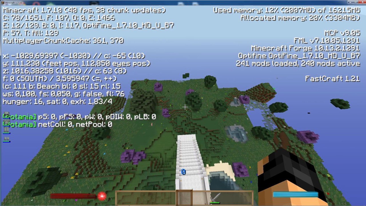 Minecraft сборка 1 5 2 из 240 модов