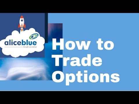 How to trade in zerodha options