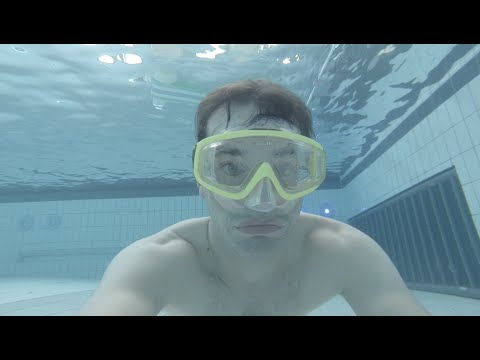 93f93984a2 How to not float up when swimming under water. (Have more fun diving in the  pool) - YouTube
