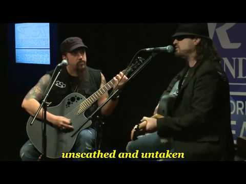 Adrenaline Mob - Indifferent ( acoustic ) - with lyrics