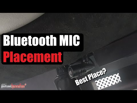 Bluetooth Microphone / Mic Installation and Placement AnthonyJ350