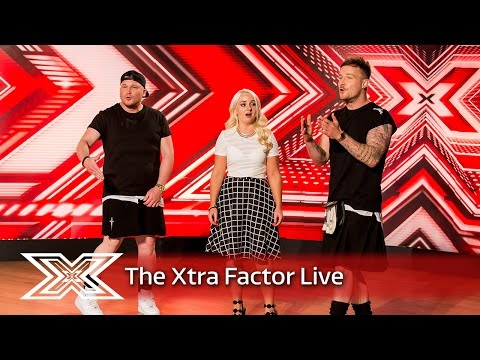 Rhapsody mix hip hop with classical music | The Xtra Factor Live 2016