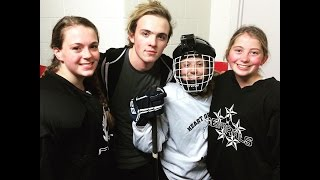 GoPro- PLAYING HOCKEY WITH RYLAND LYNCH!!!